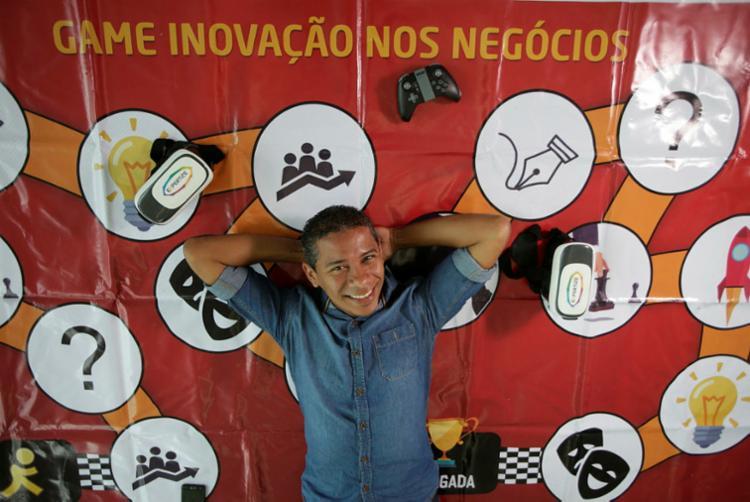Mafra criou a Expertize, startup especializada em gamificação de aulas e ambientes corporativos - Foto: Raul Spinassé I Ag. A TARDE