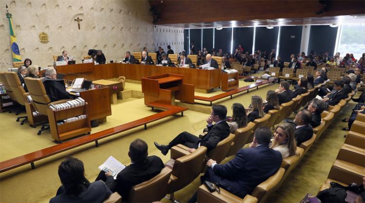 Sessão foi marcada por crítica do decano do Supremo, ministro Celso de Mello, ao governo Bolsonaro - Foto: Nelson Jr. l SCO l STF l 27.6.2019