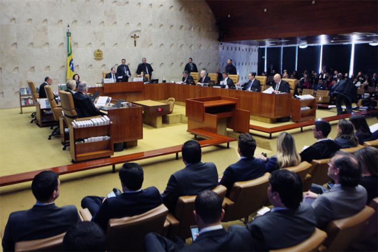 Orçamento ficou em R$ 686,7 milhões; R$ 91,9 milhões menor que em 2019 - Foto: Carlos Moura l STF