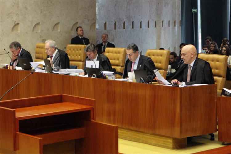 Julgamento foi suspenso e não há data para ser retomado - Foto: Carlos Moura l STF