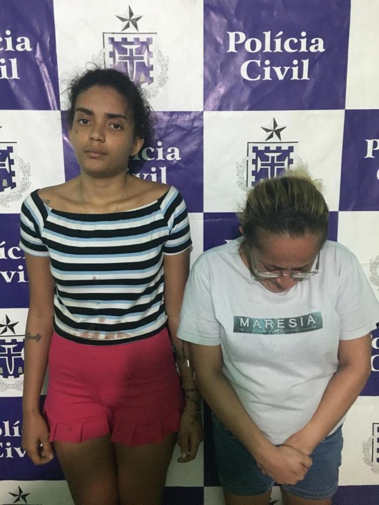 Mulheres foram flagradas com drogas e munições - Foto: Divulgação | SSP