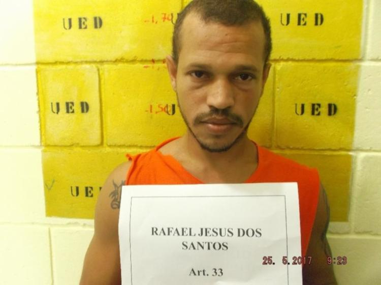 Rafael também respondia a processos por tráfico de drogas - Foto: Reprodução | Mídia Bahia