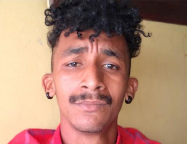 Bruno Silva Batista foi detido após ser reconhecido por policiais - Foto: Divulgação | Polícia Militar