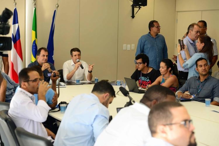 Alterações foram apresentadas pelo Superintende da Transalvador e pelo secretário de Mobilidade em coletiva