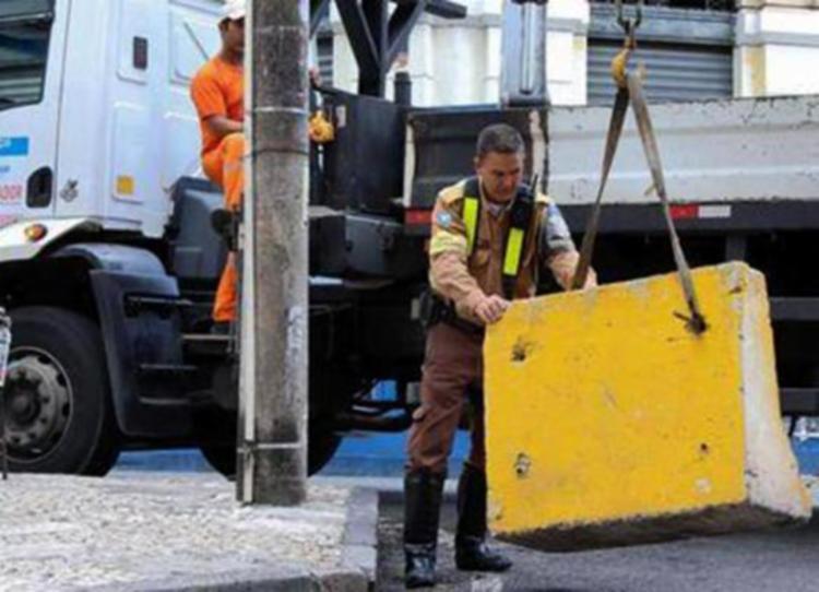 As mudanças feitas pela Transalvador são temporárias - Foto: Divulgação