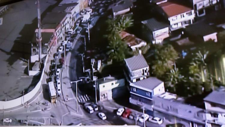 Motoristas saíram da avenida San Martin - Foto: Reprodução | TV Record