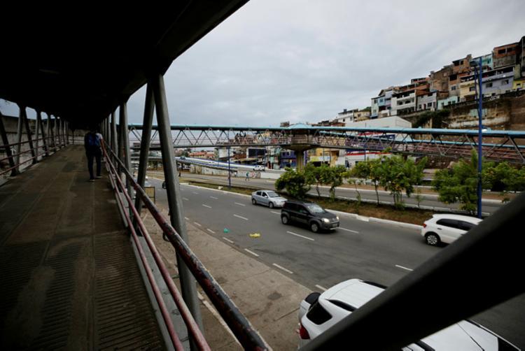 Situação ocorreu na avenida Vasco da Gama - Foto: Adilton Venegeroles | Ag. A Tarde