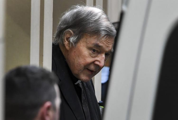 Cardeal George Pell foi condenado a seis anos de prisão por pedofilia - Foto: William West   AFP