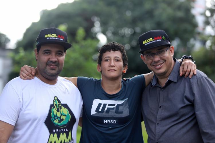 Martinho Jambeiro (esq) e Carlos Américo (dir), diretores da Brazil MMA