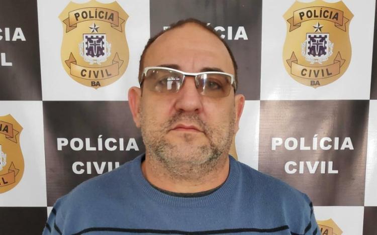 Gláuber Rogério Meira Nunes era foragido da Justiça de Mato Grosso, onde foi condenado há seis anos - Foto: Divulgação | SSP