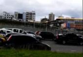 Acidente deixa trânsito lento na Avenida Paralela | Foto: Cidadão Repórter