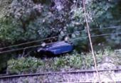 Carro perde o controle e deixa um ferido no Lobato | Foto: Reprodução | TV Record