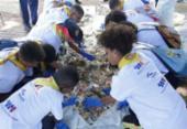 Voluntários participam do Dia Mundial da Limpeza em Salvador | Foto: Luciano da Matta | Ag. A TARDE