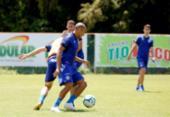 Após treino no Fazendão, Bahia embarca para duelo com o Corinthians | Foto: Felipe Oliveira | EC Bahia