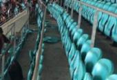 Torcedores do Vitória depredam Arena após revés; clube repudia vandalismo | Foto: Reprodução | Cidadão Repórter