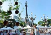 Feira de Artes da Primavera reúne artesanato do interior baiano no Campo Grande | Foto: Shirley Stolze | Ag A TARDE