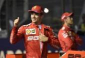 Em Cingapura, Leclerc supera Hamilton e Vettel e conquista 3ª pole consecutiva | Foto: Divulgação | AFP