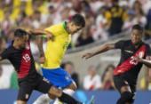 Brasil joga mal, perde chances e é derrotado pelo Peru | Foto: Lucas Figueiredo | CBF