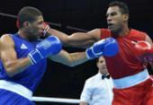 Hebert Sousa ganha mais uma e está a uma vitória da medalha no Mundial de Boxe | Foto: Cris Bouroncle l AFP