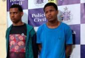 Suspeitos de latrocínio de delegado são presos em Feira de Santana | Foto: Divulgação | Ascom-PC