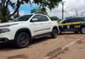 Homem é preso com documento falso e veículo roubado há quatro meses em Jacobina | Foto: Divulgação | PRF