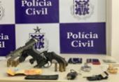 Trio é impedido de roubar R$ 100 mil em Simões Filho | Foto: Divulgação | SSP