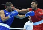 Pugilista baiano avança às quartas no Mundial de Boxe | Cris Bouroncle l AFP