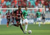 Na Fonte Nova, Vitória joga mal e perde para o Guarani   Adilton Venegeroles   Ag. A TARDE