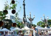 Feira de Artes reúne artesanato no Campo Grande | Shirley Stolze | Ag A TARDE