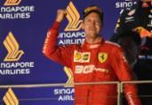Vettel vence em Cingapura, encerra jejum na Fórmula 1 | Roslan Rahman | AFP