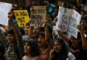 Greve Global pelo Clima leva milhões às ruas hoje | Money Sharma | AFP
