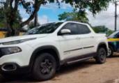 Homem é preso com documento falso e veículo roubado | Divulgação | PRF