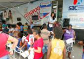 Dez municípios baianos recebem serviços do SAC Móvel | Luciano da Matta | Ag. A TARDE