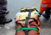 Jovem é resgatado ao pular de viaduto na BR-324 | Divulgação | PRF