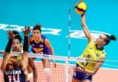 Seleção feminina de vôlei volta a vencer no Mundial | Divulgação | FIVB