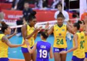 Brasil estreia com vitória na Copa do Mundo de vôlei   Divulgação   FIVB