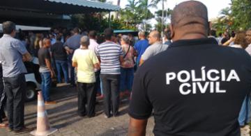 Gesta Dermeval Costa Santos foi morto por um assaltante em Feira de Santana - Reprodução