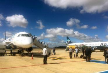 Aeroporto Glauber Rocha aumenta em 76% a movimentação de passageiros