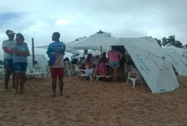 Jovem de 19 anos desaparece após se afogar em praia de Imbassaí   Filipe Ribeiro   Ag. A TARDE
