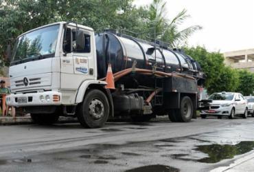 Manutenção deixa mais de 20 localidades de Salvador sem água | Matheus Buranelli | Ag. A TARDE
