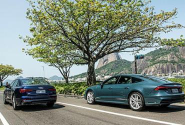 A arte dos novos modelos da Audi | Divulgação