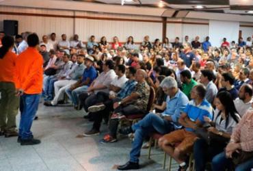 Petroleiros apresentam propostas de luta pela permanência da Petrobras na Bahia | Reprodução | Sindipetro Bahia
