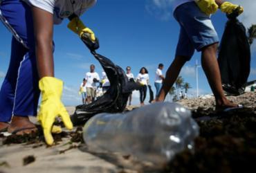 Ações de coleta ocorrem na Bahia durante o Dia Mundial de Limpeza | Joá Souza | Ag. A TARDE