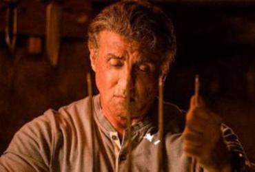 Stallone, no filme de despedida de Rambo | Divulgação