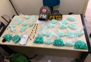 Mais de quatro mil pinos de cocaína são apreendidos no interior da Bahia | Divulgação | SSP