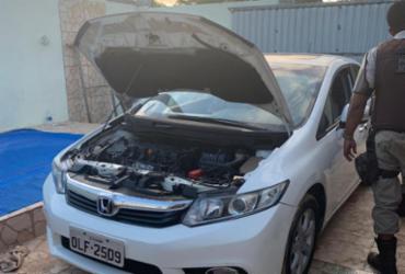 Ponto de desmanche de carros é desarticulado em Camaçari | Divulgação | SSP