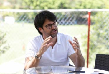 """""""A torcida merece um Bahia ainda maior"""", afirma Guilherme Bellintani   Luciano da Matta   Ag. A TARDE"""