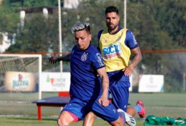 Bahia treina bolas paradas e finalizações no Fazendão | Felipe Oliveira | EC Bahia