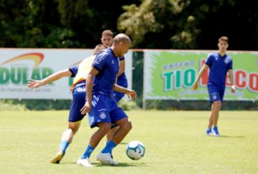 Após treino no Fazendão, Bahia embarca para duelo com o Corinthians | Felipe Oliveira | EC Bahia