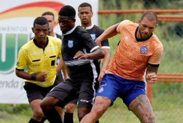 Em reapresentação, reservas do Bahia participam de jogo-treino no Fazendão   Felipe Oliveira   EC Bahia